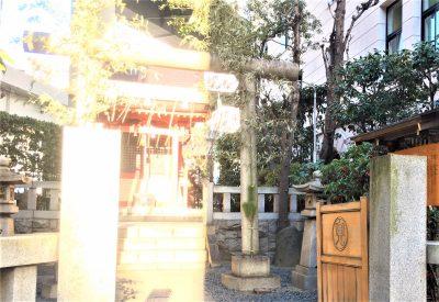 兜神社 Kabuto Shrine 日本橋兜町 新年参拝01